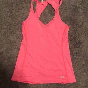 Under Armour Tops - Pink under armour workout tank!